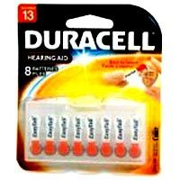 Duracell Da-13b8 Hearing Aid Batteries (duracell Da13b8) - 8 each per pack X 6 Pack