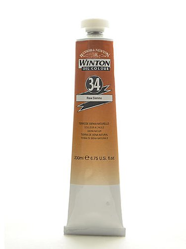 Winsor & Newton Winton Oil Colours 200 ml raw sienna 34