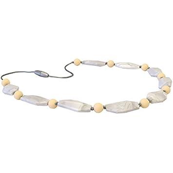 Amazon.com: Itzy Ritzy - Collar de perlas de silicona para ...