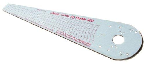 Jig Circle Cutting - Jasper 300J Model 300 Router Circle Cutting Jig