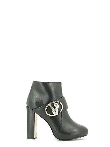 Versace à Boots E0VOBS5275404899 Noir Femmes talons jeans qxq4OwnBfH