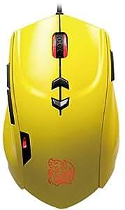 Tt eSPORTS THERON Metallic Yellow Gaming Mouse [MO-TRN006DTN]