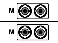 APC - Patch Cable - ST Multi-Mode (M) - ST Multi-Mode (M) - 3 m - Fiber Optic - 62.5/125 Micron - ()