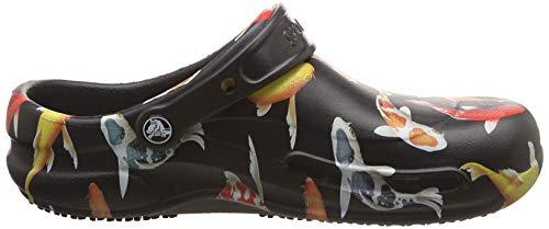 Adulte tangerine Sabots Mixte Bistro Graphic Clog Crocs black 0s3 Noir qIt8Xw8