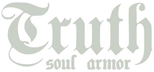 Truth Soul Armor Sticker Graphic - Peel and Stick Sticker - for Cars Windows Bumper Books Trucks etc.