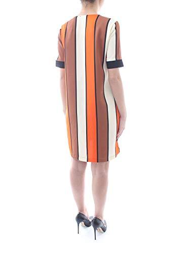 V multicolor Détails À amp; Robe En Scotch Soda Col Avec Fantasy Côtelés Orange YPqnxp6