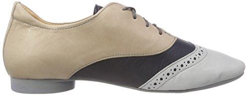 Guad 282979 Macchiato 25 para Cordones Brogue de Mujer Kombi Zapatos Beige Think Bwxd5Aqw