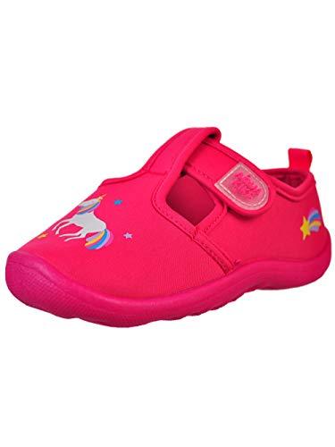 Aqua Kiks Girls' Water Shoes - Pink, 10 Toddler -