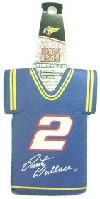 - NASCAR Rusty Wallace Racing Team Colors Sports Fan Cold Beverage Koozies, Team Color, One Size