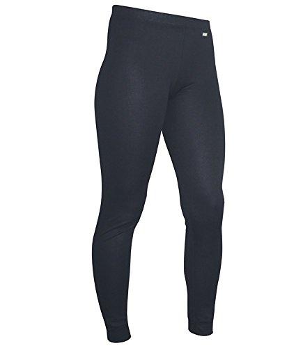 Polarmax Women's Double Base Layer Pant (Black, Large) -