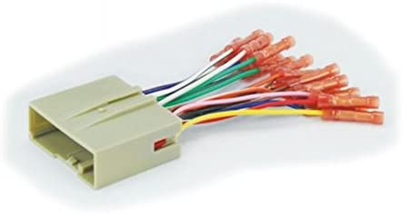 fd23bcb car speaker wiring harness connector kit compatible with select  2004-up ford vehicles: amazon.ae  amazon.ae