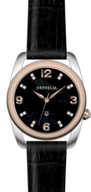 ORPHELIA Damen-Armbanduhr Analog Quarz Leder 153-1723-44