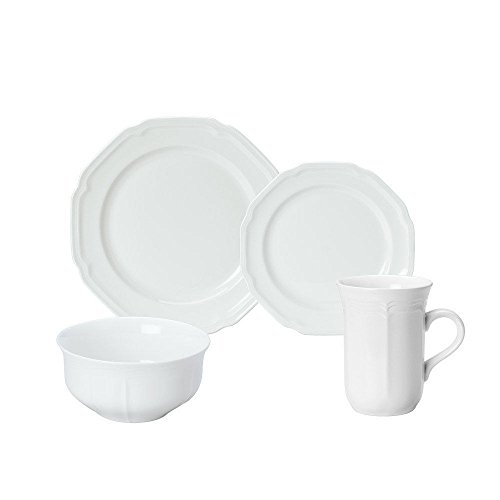 Mikasa 4 Piece Place Setting Antique White service for 1