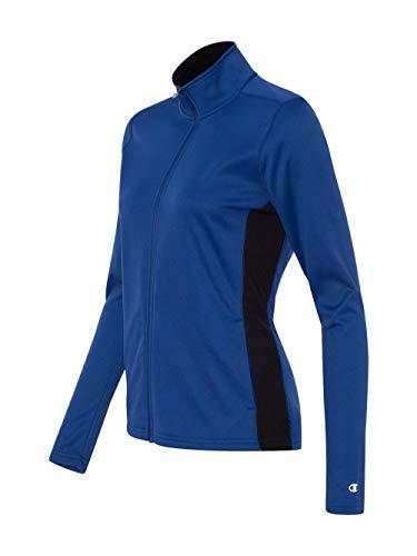 - Champion Ladies Double Dry Colorblock Full Zip Jacket (S260) -ATHLETIC R -XL