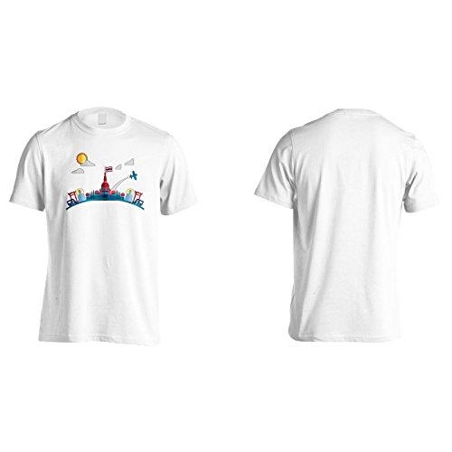 Neu Ich Liebe Thailand Kunst Herren T-Shirt m463m