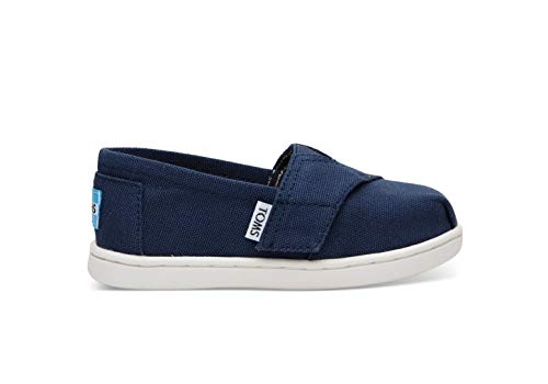 TOMS Kids Unisex Alpargata 2.0 (Infant/Toddler/Little Kid) Navy Canvas 9 M US Toddler M