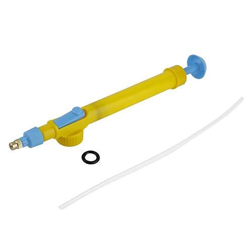 Lordpoll-IT Pressione dell'Acqua della Testa dello spruzzatore della Pistola del Carrello di plastica del Carrello delle Mini spremute