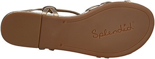 Splendid Women's Flynn Sandal, Champagne, 7 Medium US by Splendid (Image #3)