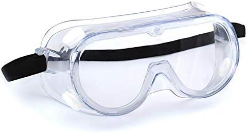 ANLEM Gafas de Protección con Lentes Antivaho Resistentes a Salpicaduras, Ligeras y Cómodas Gafas Lentes de Seguridad antivaho para La Vida Cotidiana, Trabajo de Bricolaje, Laboratorio de Química