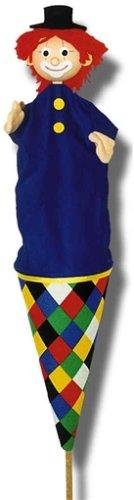 Trullala 11045 - Clown blau, Tütenkaspar Figurentheater / Tüten- und Stabpuppen Figurentheater und Zubehör