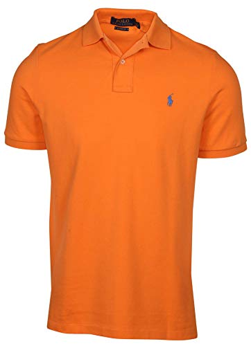 Polo Ralph Lauren Mens Classic Mesh Polo Shirt (M, Navel ()