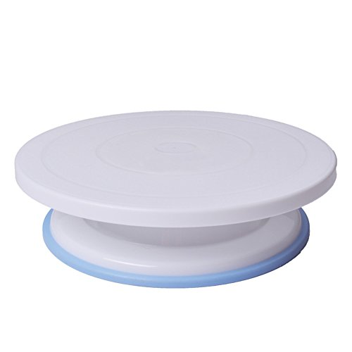 Nizzco Non-slip Bottom Plastic Cake Decorate Turntable/Decorating Stand,11-Inch