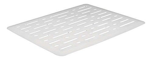 (Rubbermaid Evolution Sink Mat, Small, White FG1G1706WHT)