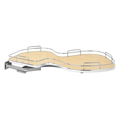 Rev-A-Shelf 5371-18-R 5371 Series Right Handed Blind Corner Single Tier Base Cab, ()