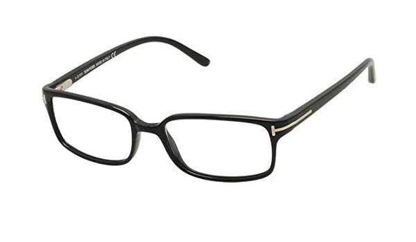 23311fac2f86 Amazon.com  Tom Ford Eyeglasses TF 5209 BLACK 001 TF5209 by Tom Ford   Health   Personal Care