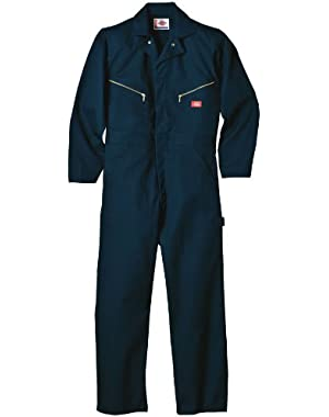 Drop Ship 7.5 oz. Deluxe Coverall - Blended - DK NAVY 4XL - 33T