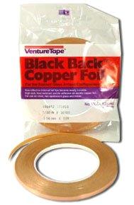 (1/4 inch Venture Black Backed Copper Foil)