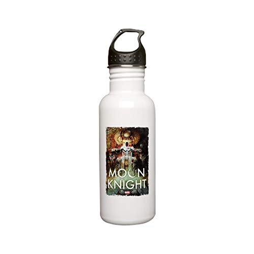 CafePress Moon Knight Throne Stainless Water Bottle 0 Stainless Steel Water Bottle, 0.6L Sports Bottle