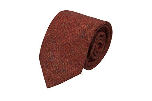 with Solid Necktie Men's Wool spots rusty Notch colour red interspersed x0EtRw4q4