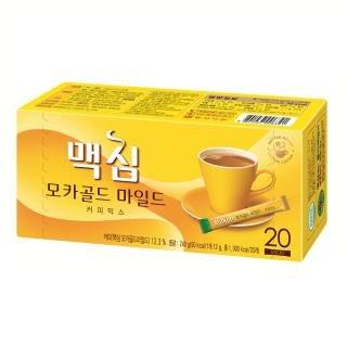 Maxim Mocha Gold Korean Instant Coffee 20 Sticks + 4 Sticks Free