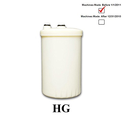 KANGEN Compatible HG-classification Replacement Ionizer Filter for Enagic MW-7000 Leveluk SD501 Toyo Ange Impart by IonHiTech