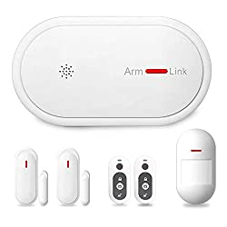 Eslibai 2g Wireless Home And Business Security Alarm System 433mhz Gsm Wifi Smart Security System Diy Kits Burglar Alarm With Auto Dial And App Remote Control