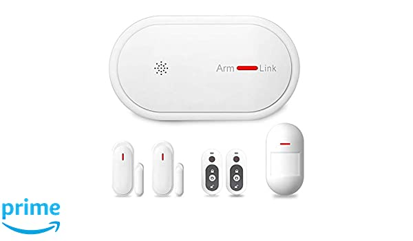 Eslibai 2.4Ghz WiFi GSM Home Security Alarm System DIY Kit with APP Remote Control,APP Push Notification, Auto Dial and No Monthly Fee, Expandable 32 ...