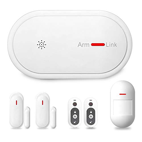 Eslibai 2.4Ghz WiFi GSM Home Security Alarm System DIY Kit with APP Remote Control,APP Push Notification, Auto Dial and No Monthly Fee, Expandable 32 Sensors for Home Office