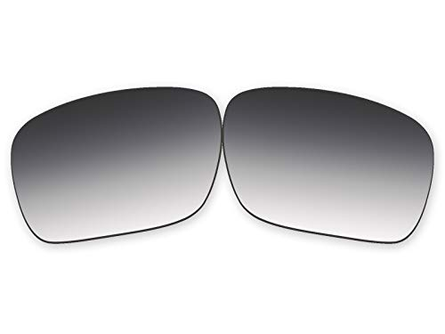 Vonxyz Lenses Replacement for Oakley Holbrook Sunglass - Grey Gradient Polarized ()