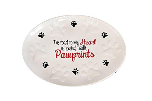 DEI Pawprints on Your Heart Platter