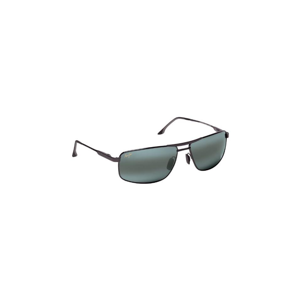 Maui Jim Kapena 207 Sunglasses, Gunmetal / Grey Lens, Sunglasses
