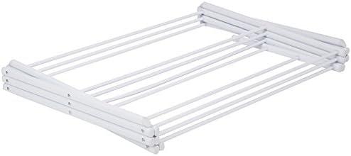Soporte para Trapo WHK Tendedero de Trapo Plegable portavasos Soporte para Toallas de t/é Organizador de Cocina Estante de Secado de Tela Vertical para mostrador rieles para Toallas