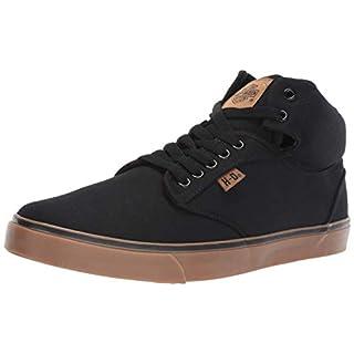 Harley Men's Wrenford Sneaker, Black, 11.0 M US