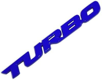 Amazon.com: Blue Metal Turbo Text Engine Race Motor Swap Emblem Badge For Trunk Hood Door for Mazda MX-5 Miata: Automotive