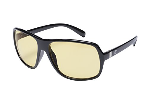Drew Mens Navigator - Eagle Eyes Night-Lite Navigator Night Driving Glasses - Black