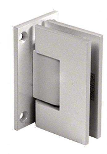 - C.R. LAURENCE GEN037SN CRL Satin Nickel Geneva 037 Series Wall Mount Full Back Plate Standard Hinge