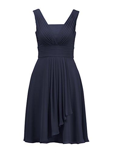 Robes De Demoiselle D'honneur Alicepub Courtes Pour Les Femmes Soirée Cocktail Mariage Robe De Soirée Bleu Marine