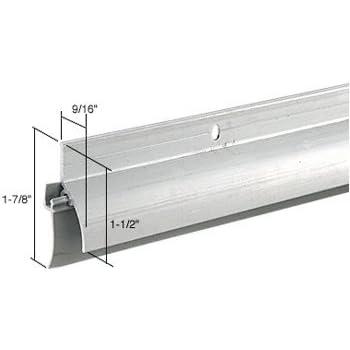 """3//4/"""" CRL Aluminum Door Rain Drips 19 mm"""