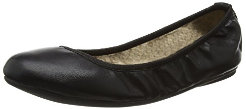 Butterfly Twists Sophia, Damen Ballerinas, Schwarz , 36 EU (3 UK)