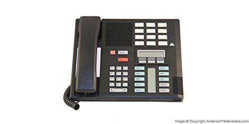 Nortel Norstar Meridian M7310 Business Office Telephone with Handset - Black